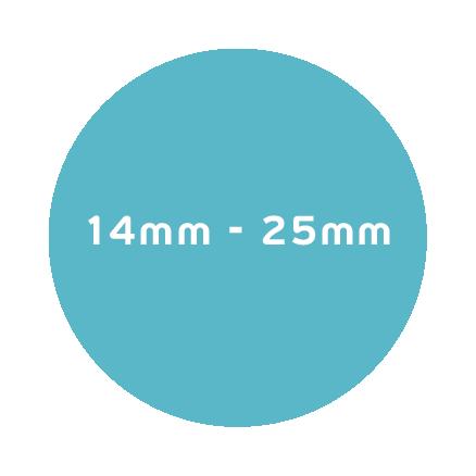 14mm – 25mm